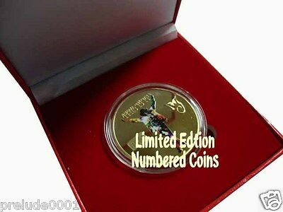 "Michael Jackson Collectable Coin ""YOU CHOOSE THE NUMBER"" This is it Limtied Ed"