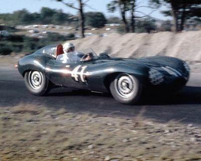 1955 ? Jaguar D Type Race Car Photo Thompson u9286-7JXQFC