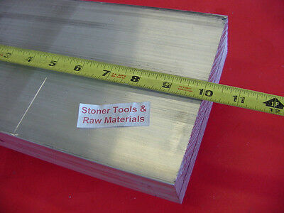 """3 Pieces 1-1/2""""x 5"""" ALUMINUM 6061 FLAT BAR 10"""" long Solid T6511 Plate Mill Stock"""