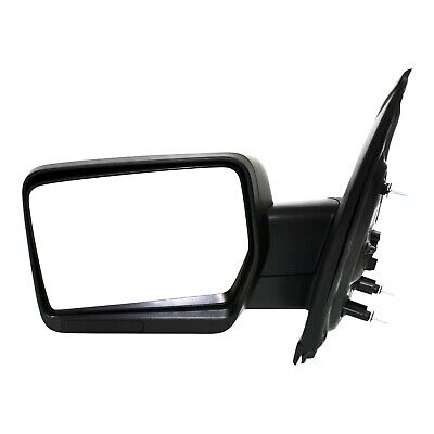 Power Mirror For 2009-2012 Ford Flex Front Left Manual Folding Textured Black