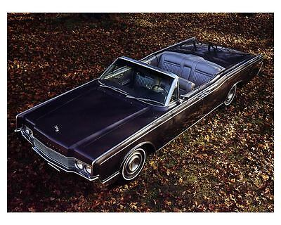 1967 Lincoln Continental Convertible Factory Photo m0837-36P13X