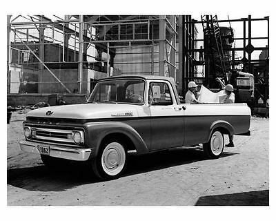 1962 Ford F100 F-100 Pickup Truck Factory Photo m0874-GNDR4H