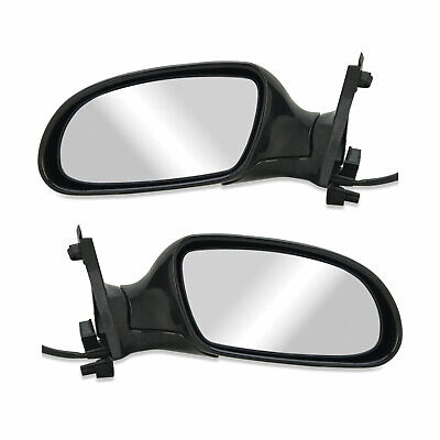 Ford Falcon XH Ute 96 - 99 Black Electric Pair 1xLH 1xRH Door Mirrors Brand New