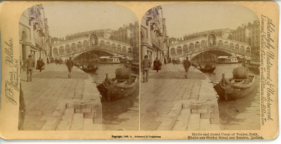 STEREO Italie Venise Le Grand Canal STEREO Italie Venise Le Grand Canal Tirage
