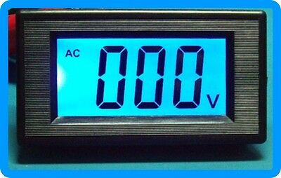 3 1/2 Blue LCD Digital Volt Panel Meter AC 0-200mV
