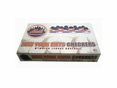 New York Mets MLB Checkers Board Game