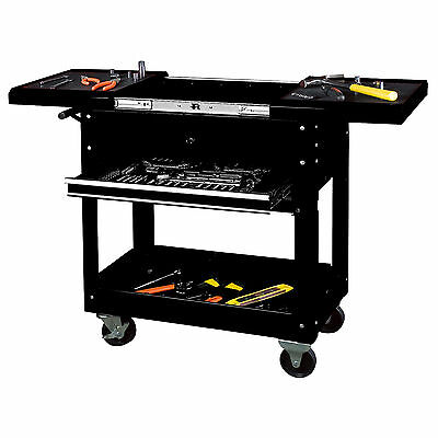 Tool Cart Workstation Tool Storage Chest Trolley Toolchest Rolling Tool Box New