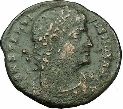 Constantine I The Great 330AD Ancient Roman Coin Legions  Glory of Army i35101