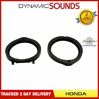 CT25HD05 165mm Front Door Car Speaker Adaptors Kit For Honda Accord (2008>)
