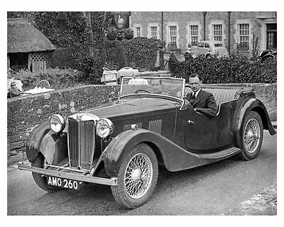 1939 MG 1 1/2 Litre 4 Passenger Touring Factory Photo m1477-1PWCBH