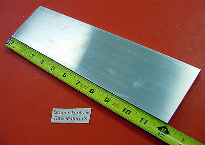 "3/8"" X 3"" ALUMINUM 6061 FLAT BAR 12"" long T6511 .375"" Solid Plate Mill Stock"