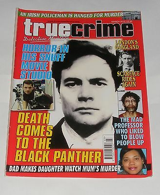 True Crime March 2012 - Donald Neilson/theodore Kaczynski/william Mitchell