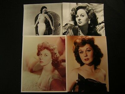 Sexy Susan Hayward 4 Assorted PHOTO LOT 923H