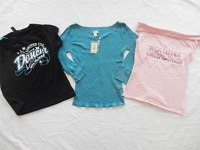 Lot of New Girl's Shirts Size Medium  (Hollister, Limited Too)