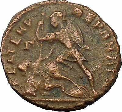 CONSTANTIUS II Constantine the Great son Roman Coin Battle Horse man i35128
