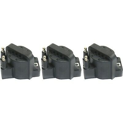TRQ Ignition Spark Coil Pack Set of 3 Kit for Buick Chevy Cadillac Pontiac V6