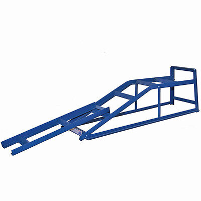 Pair Of 2 Tonne Heavey Duty Vehicle Car Ramp Pair Ramps With Ramp Extensions