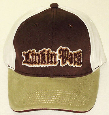 LINKIN PARK CAP/HAT Brown/Beige/White Authentic Licensed NEW