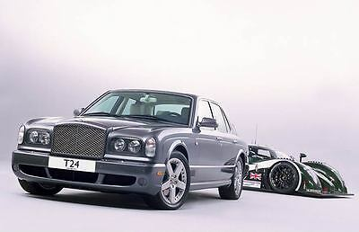 2004 Bentley Arnage T24 & Speed 8 Automobile Photo Poster zm119-3SH73G