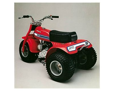 1981 Honda ATC70 ATV Photo Poster zm1368-P998JM
