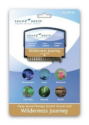 Sound Oasis Sound Therapy Expansion Sound Card Wilderness Journey for S-550