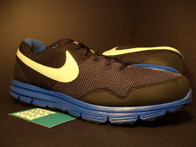 5c806ce50ed8 2010 Nike Air LUNARFLY + BLACK COOL WOLF GREY ROYAL BLUE WHITE 396048-003  NEW