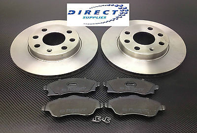 VAUXHALL CORSA C 1.2 16V SXi FRONT 2 BRAKE DISCS AND PADS SET NEW 240mm VENTED)