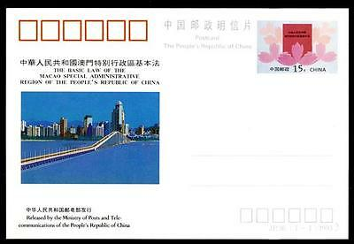 CHINA - CINA POPOLARE - 1993 - JP.36 - The Basic Law of the Region of the People