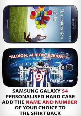 Personalised West Bromwich Albion Unofficialsamsung Galaxy S4 Hard Case
