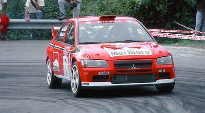 2002 Mitsubishi Lancer Rally Car Automobile Photo Poster zm285-1DTXNC