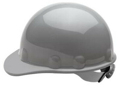 Fibre-Metal Grey Supereight Hard Hat with Ratchet Suspension
