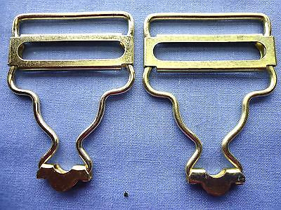 30mm Gold Overall Buckles