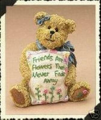 "BOYDS #228483 MIA GOODFRIEND ""friends are flowers that never fade away"" RETIRED"