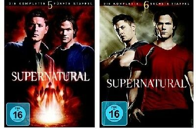 Supernatural - Season/Staffel 5+6 * NEU OVP * DVD Box Set