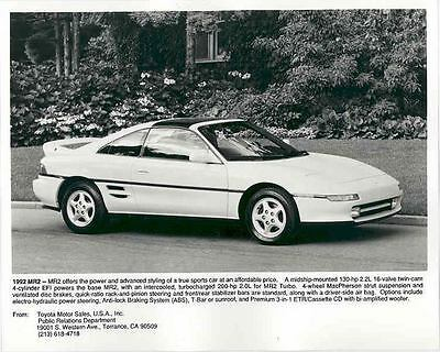 1992 Toyota MR2 Automobile Photo Poster zab2359-OX1QC4