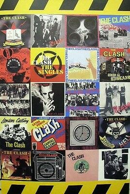 THE CLASH 2006 singles box set ltd ed promo print ~MINT~NEW~!