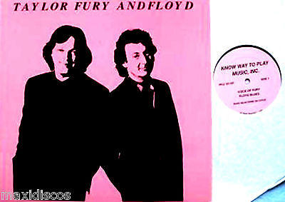 LP - Pink Floyd - Taylor Fury And Floyd (Very Rare Live 1988 Collectors Item) NM
