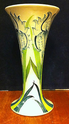 Moorcroft Green Iris 85/8 MIB First Quality numbered edition