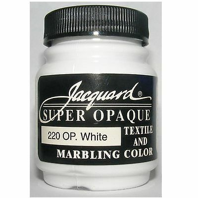 Opaque White' Natural Or Synthetic Fabric Paint
