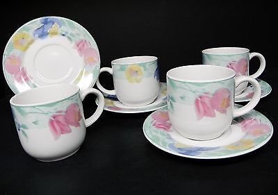 SANGO PASSION SET OF 4 CUPS AND SAUCERS