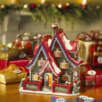 Department 56 North Pole Countdown To Xmas Headquarters Retired