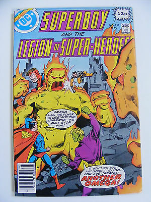 Superboy & The Legion Of Super- Heroes # 251 Pence Copy