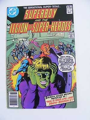Superboy & The Legion Of Super- Heroes # 256 Pence Copy
