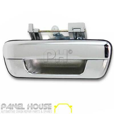 NEW Holden Rodeo RA Tail Gate Handle Outer '03-'06 Chrome NO LOCK HOLE Type
