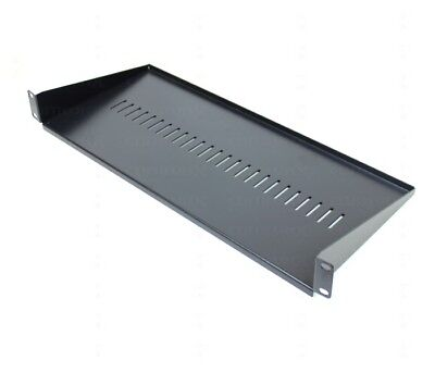 "19"" 200mm Universal Shelf for Data Network Cabinet Rack Mount for Lan Switch"