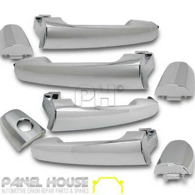 NEW Toyota Hilux 05-11 Chrome Outer Door Handle Complete Exterior Set 1 Key Hole