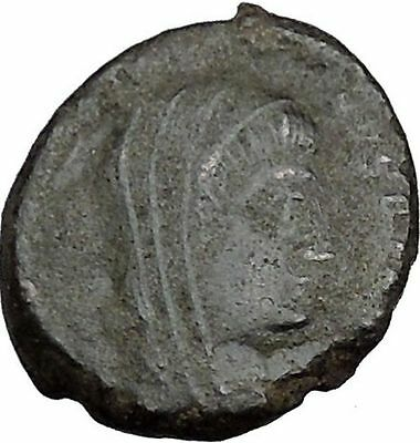 CONSTANTINE I the GREAT 347AD  Ancient Roman Coin Christian Deification  i35647