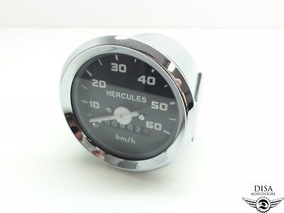 Hercules 60mm Tacho Tachometer Moped Mokick Optima NEU *