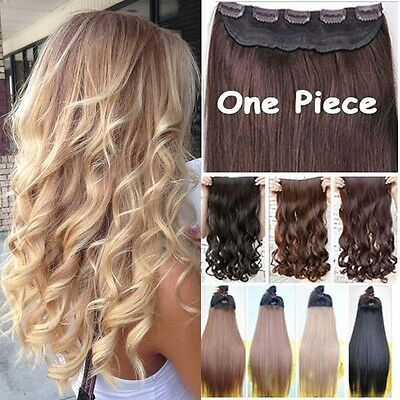 Free Ship SALON FINEST HAIR EXTENTIONS 5 CLIPS IN woman favored heat resist