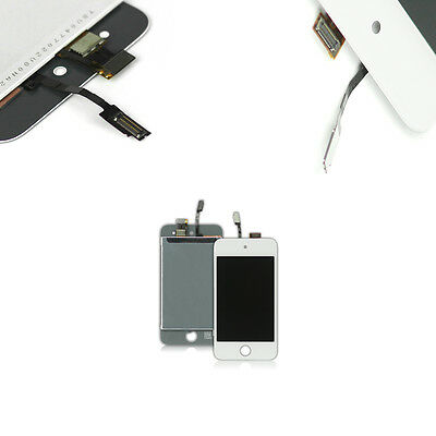 Kit Touch Screen Vetro E Lcd Display Bianco Per Apple Ipod Touch 4G A1367 Oem